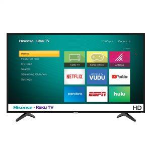 Hisense 32 Inch SMART Inbuilt With Free To Air Decoder Full HD LED TV - Black