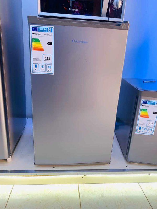 Hisense 120 Litres Fridge, Single Door Refrigerator - Silver