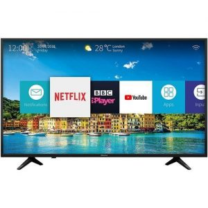 Hisense 50-Inch 4K Ultra HD Smart TV With In-Built WIFI - Black