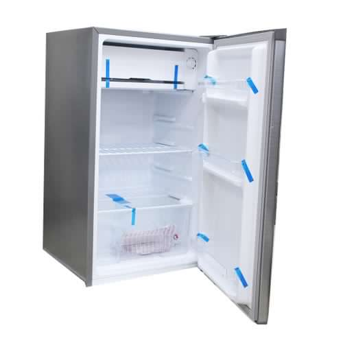 Changhong CH-120 – Mini Single Door Refrigerator – 117L Fridge – Silver