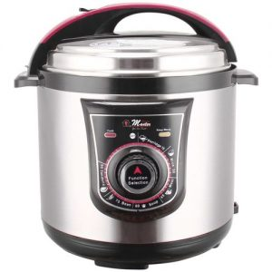 EM-MPC-1048 Machanical Pressure Cooker 7.0L 1800 watts -Black