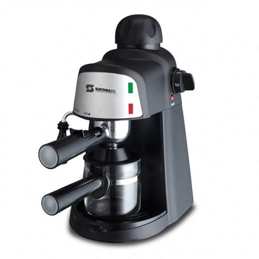 SAYONA COFFEE MAKER 1.6L 800W - SILVER
