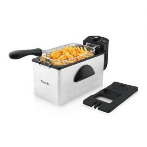 Saachi Deep Fryer - Silver,Black
