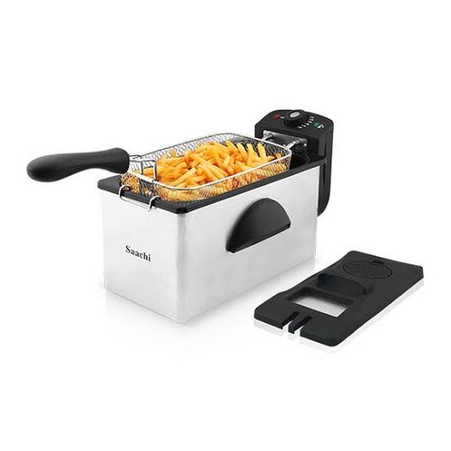 Saachi Deep Fryer - Silver,Black