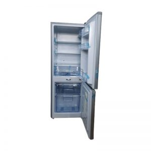 Sayona 141litres double door silver down part freezer