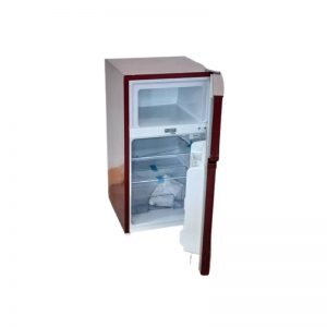 Ice cool 120Litres double door red