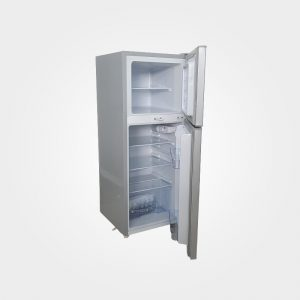 ICECOOL BCD-138 Fridge - 138Litres - Silver. Details