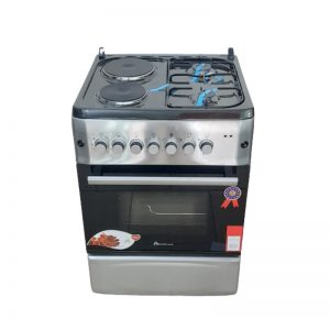 blue flame 2plates electric +2burners gas electric oven{ 60x60cm}