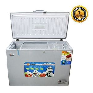 Sayona chest freezer 250litres silver colour