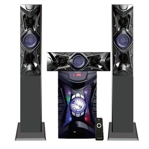 Global Star Global-star Home theater Speaker System GS-3301- 3.1 Channel Hifi Enabled 2000W - Black