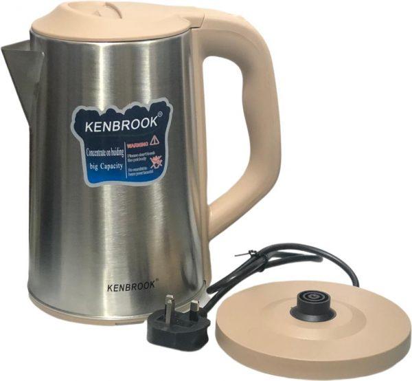 Electric Kettle-Kenbrook - 3Litres
