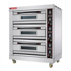 ADH TRIPPLE DECK OVEN – TRIPLE – 2 TRAYS PER DECK