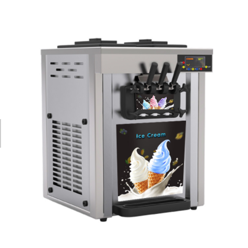 Ice cream Maker Machine Medium – Silver