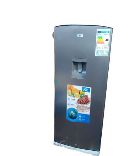 ADH 260L Refrigerator With Water Dispenser – Silver