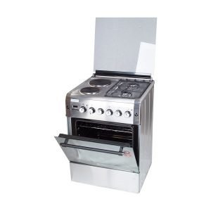 BlueFlame diamond cooker D6022ERF 60x60cm 2 gas burners and 2 electric plates with electric oven