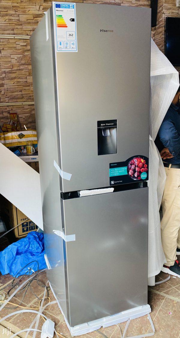 Hisense 330 Litres Combo Double Door Fridge With Dispenser