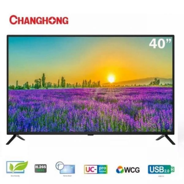 Changhong 40 Inch Full HD, LED TV With Free To Air