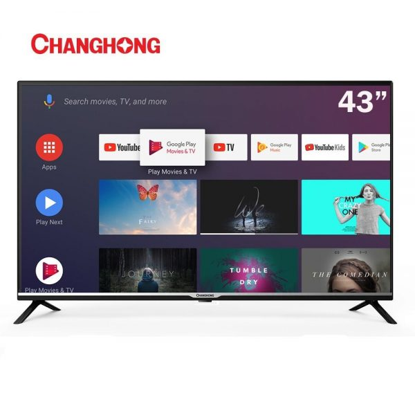 CHANGHONG 43 INCH SMART Android Full HD LED TV