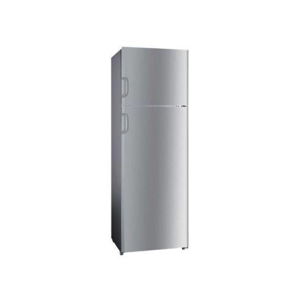 Hisense 392 Liters Defrost Double Door Refrigerator-Silver