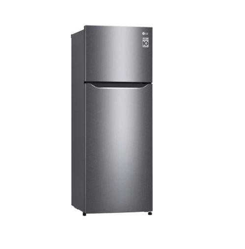LG 225L Top Freezer Double Door Refrigerator GN-B222SQBB