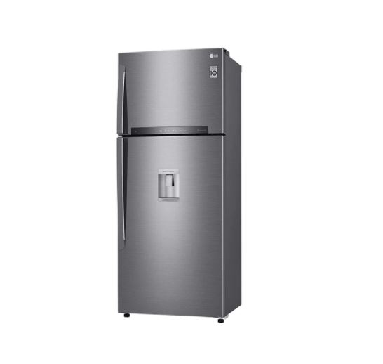 LG GL-F652HLHU 471 Ltrs Double Door Refrigerators - Silver