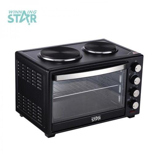 Winning Star 40L Mini Oven 2 Hotplates